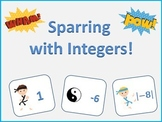 Sparring with Integers - Comparing Integers with Opposites