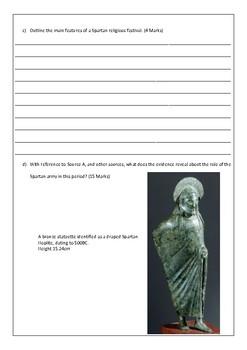 Sparta Assessment Tasks