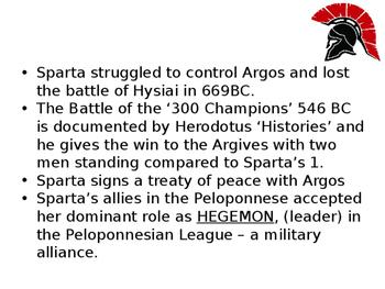 Sparta a Brief History