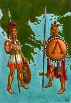 Sparta and Athens Essay (Compare and Contrast)