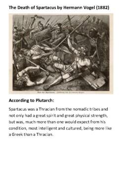 Spartacus Handout