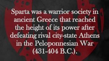 Spartan History Bulletin Board