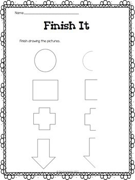 Spatial Awareness (Position Words)  ~ Center Activities and Worksheets