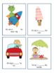 Spatial Concept & Preposition Fill - In - The - Blank Flash Cards!