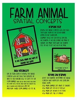Spatial Concepts - Farm animals