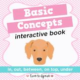 Spatial Concepts Interactive Book (Basic Concepts)