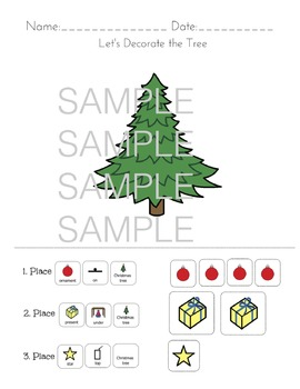 Spatial Concepts: Let's Decorate the Tree