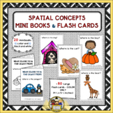 Spatial Concepts Mini-Books and Flash Cards