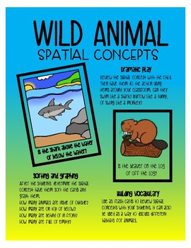 Spatial Concepts - Wild Animals
