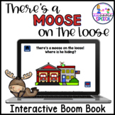 Interactive Book & Game- Community Helpers: Moose on the L
