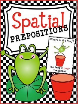 Preposition Resources (Spatial Prepositions) ~ with & without color