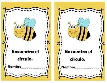 Spatial Relationships Spanish Booklet
