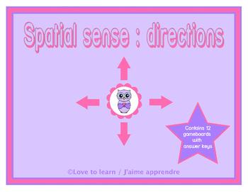 Spatial Sense : directions