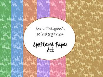 Spattered Papers Digital Pack