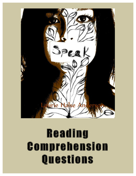 Speak By Laurie Halse Anderson Comprehension Questions