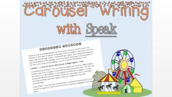 Speak Carousel Writing