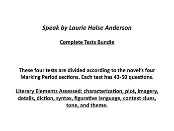 Speak-Complete Tests Bundle