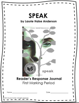 Speak First Marking Period Materials
