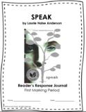 Speak First Marking Period Materials