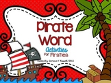 Speak Like A Pirate Day for Firsties & Seconds