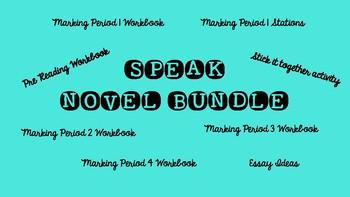 Speak Novel BUNDLE