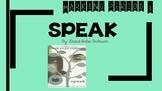 Speak Novel Marking Period 1- Teacher Presentation or Stud