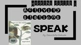 Speak Novel: Marking Period 1 station activities
