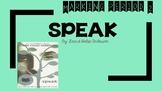 Speak Novel Marking Period 2- Teacher Presentation or Stud