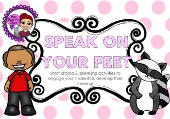 #ausbts18 Speak On Your Feet - Drama / Thought Cards