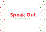 Speak Out/Watch Ya' Mouth Game Christmas phrases