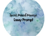 Speak Paired Passage Essay