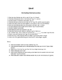 The Novel Speak- Quiz/Test Questions w/ answers and pg. #s