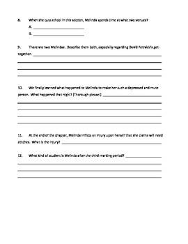 """""""Speak"""" Quizzes by Marking Period"""