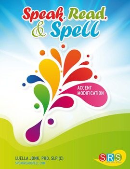 Speak, Read, & Spell Accent Modification Book