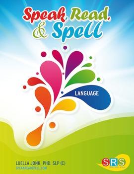 Speak, Read, & Spell Language Book