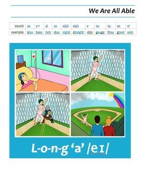 Speak, Read, & Spell Literacy Book