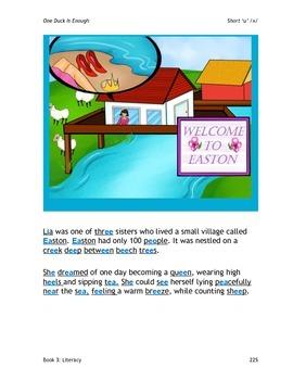 Speak, Read, & Spell Vowel Literacy Practice