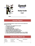 Speak Study Guide (by Laurie Halse Anderson)