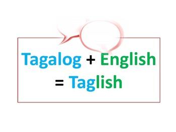 Speak Taglish (Tagalog English) 101 2nd Lesson