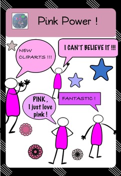 Pink Power ! - Cliparts & Speech Bubbles