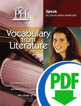 Speak Vocabulary from Literature