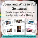 Speak and Write in Full Sentences! Distance Learning Indep
