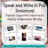 Speak and Write in Full Sentences