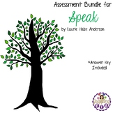 Assessment Bundle for Speak by Laurie Halse Anderson