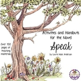 Activities and Handouts for Speak by Laurie Halse Anderson