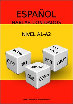 Speak & learn Spanish with dices