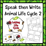 Speak then Write Animal Life Cycle 2