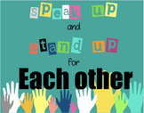 Speak up and Stand up Anti-Bullying Activity