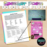 """Speaker Poem: use """"Mirror"""" by Sylvia Plath to write from object's point of view"""