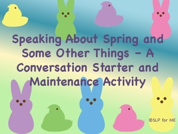 Speaking About Spring & Some Other Things - A Conversation